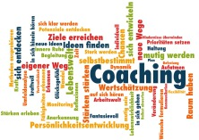 Bild Wortwolke Coaching